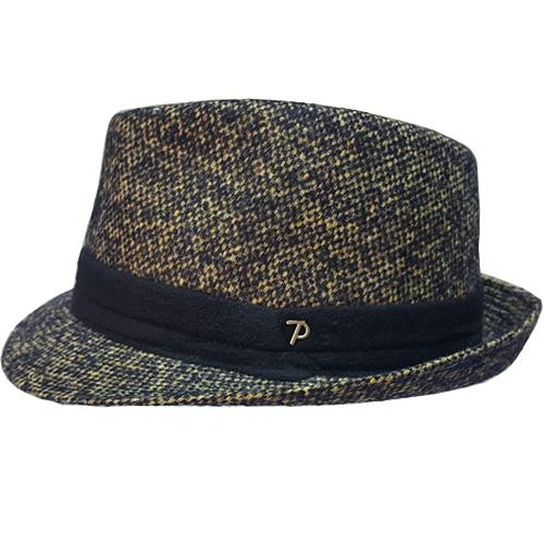 Trilby Panizza in tweed